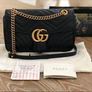 GUCCI GG Marmont Small Matelasse Bag